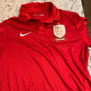 Nike Soccer Jersey England 150 year Anniversary